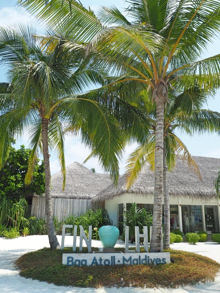 Finolhu, our Maldivian island.