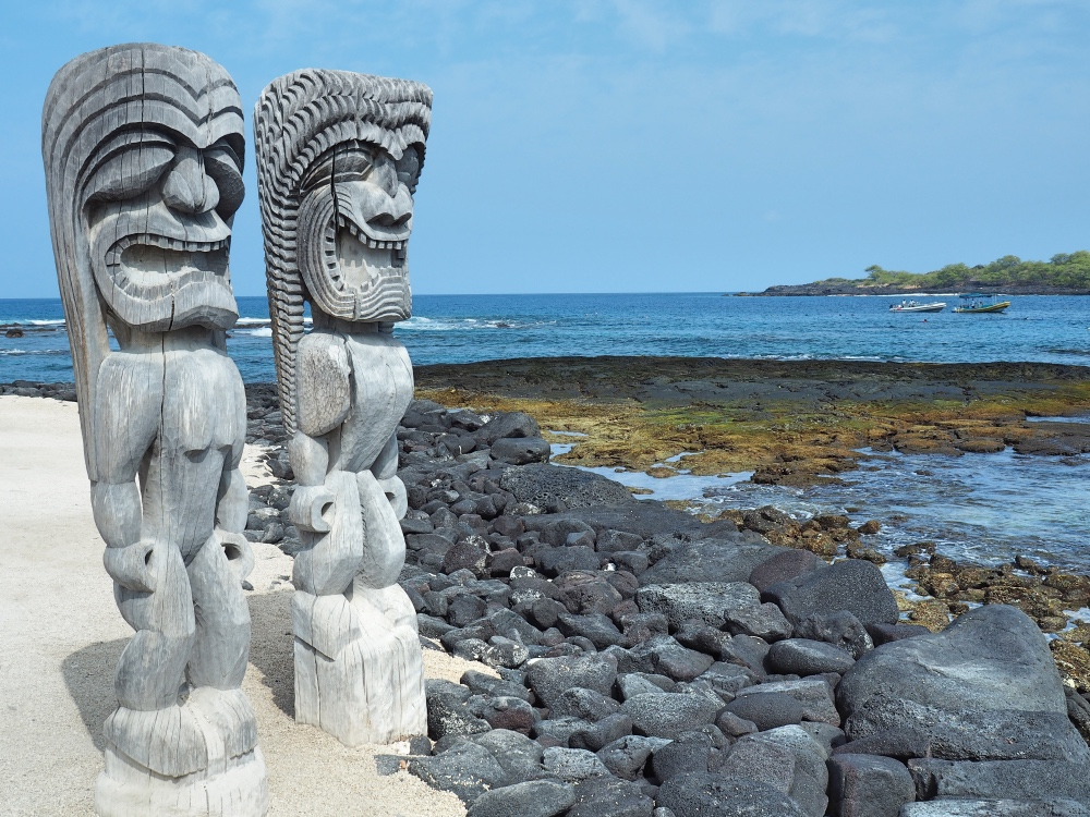 The Pu'uhonua O Honaunau National Historical Park