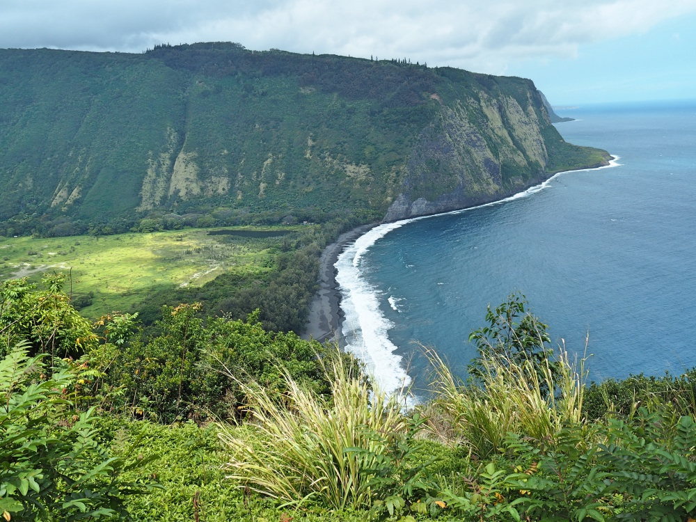 The Waipi'o Valley lookout.