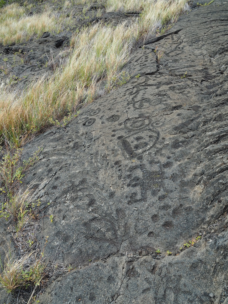 More petroglyths.