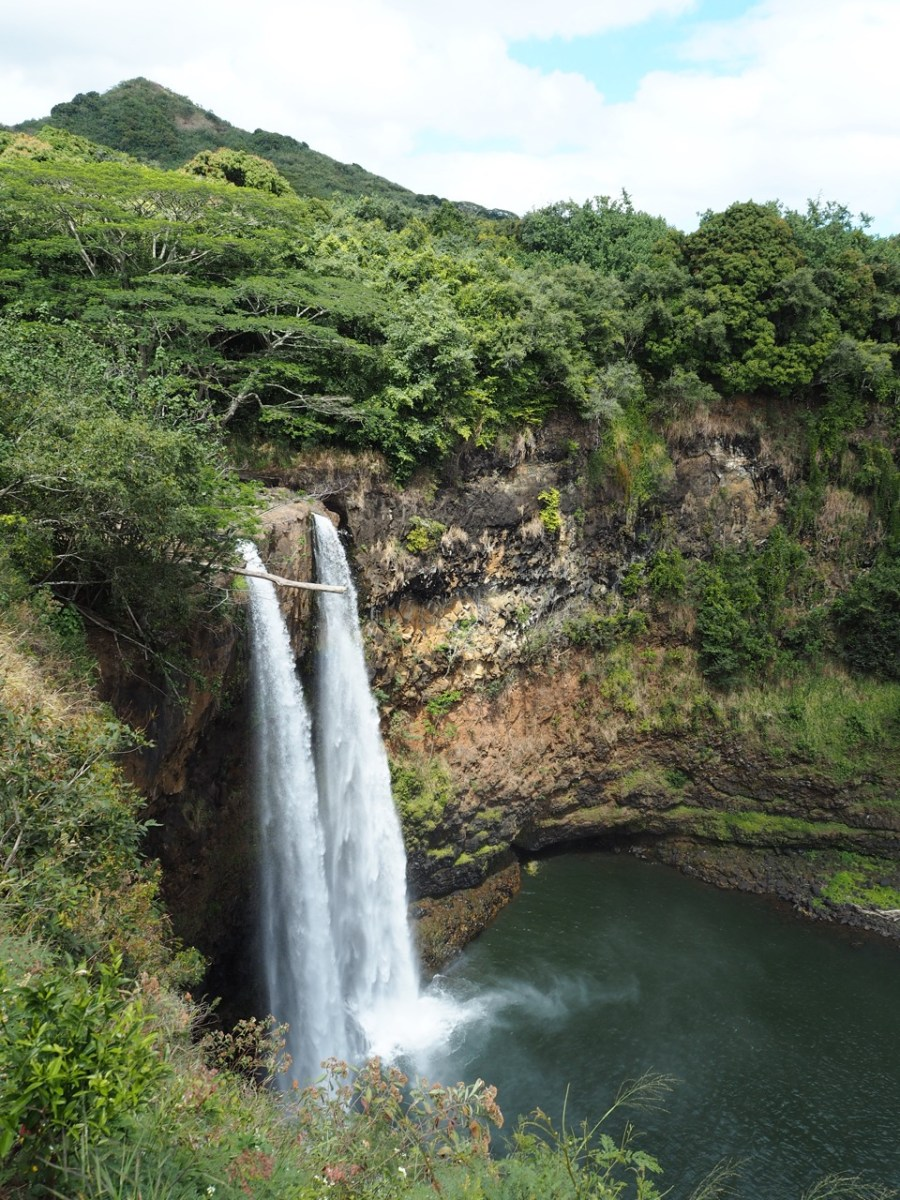 The Wailua Falls.