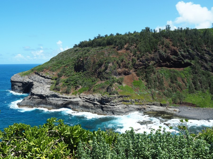 View from the Kilauea lighthouse