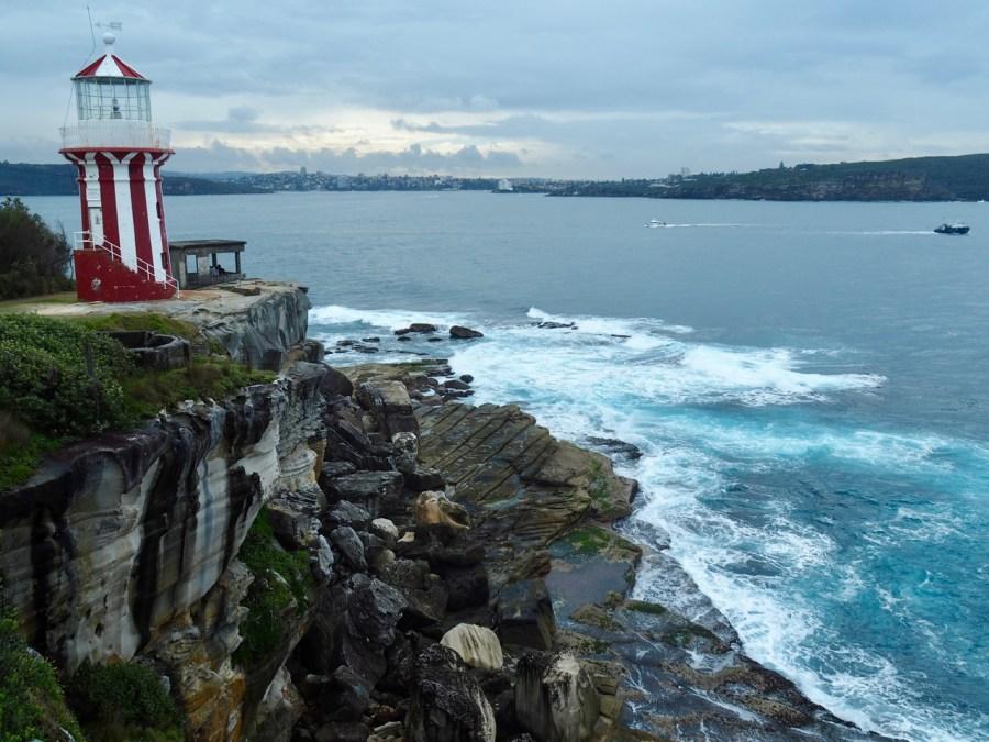 The lighthouse Watson Bay.