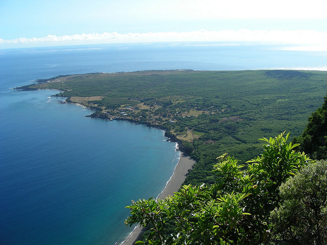 The Kalaupapa Trail.