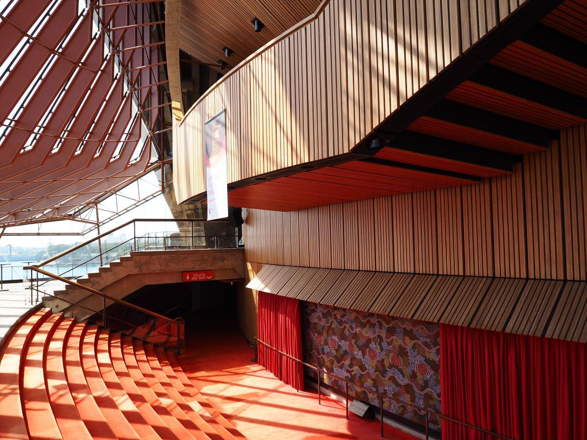 Inside the Opera House.