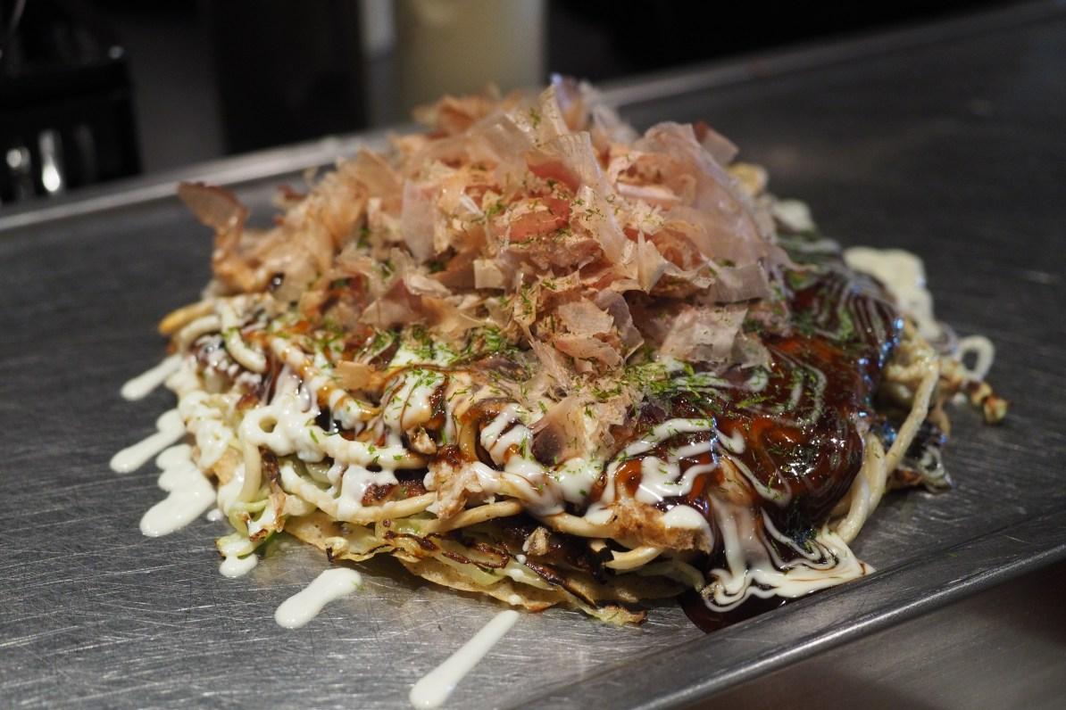 Awesome Okonomiyaki at Chibo.
