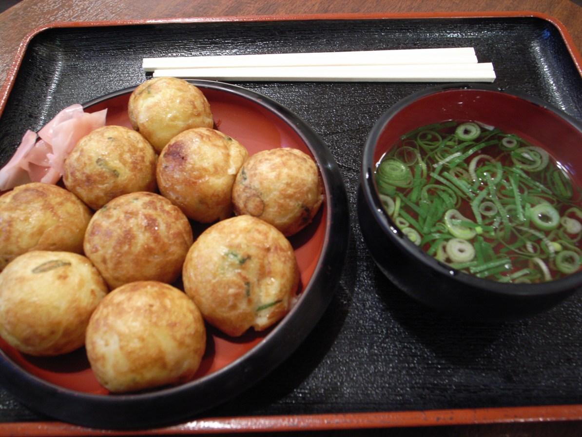 Some Takoyaki.