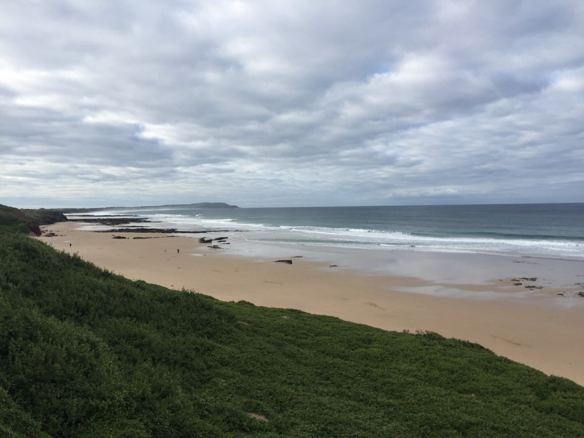 A deserted Surf Beach.