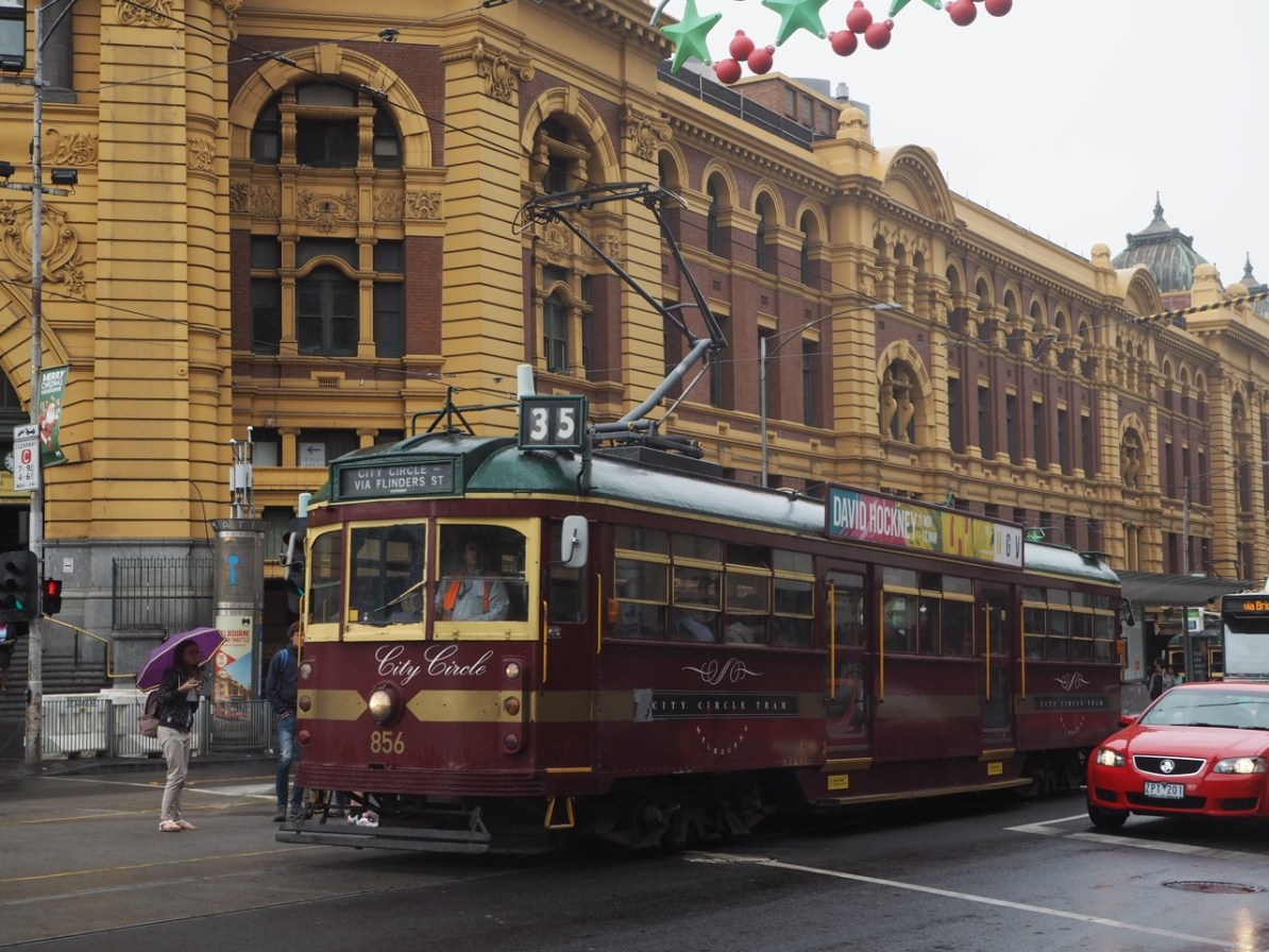 The City Circle tram.