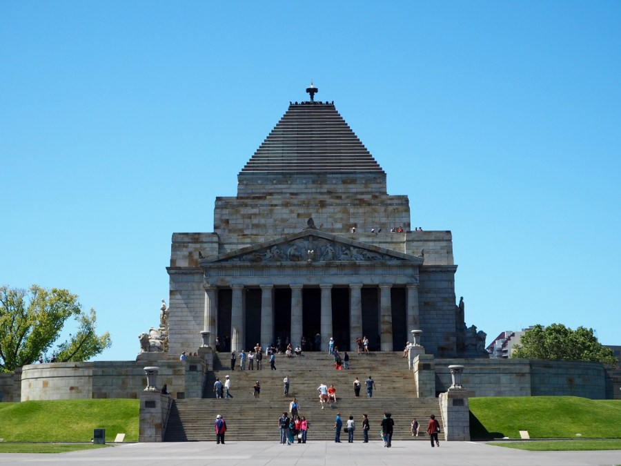 The Melbourne War Memorial.