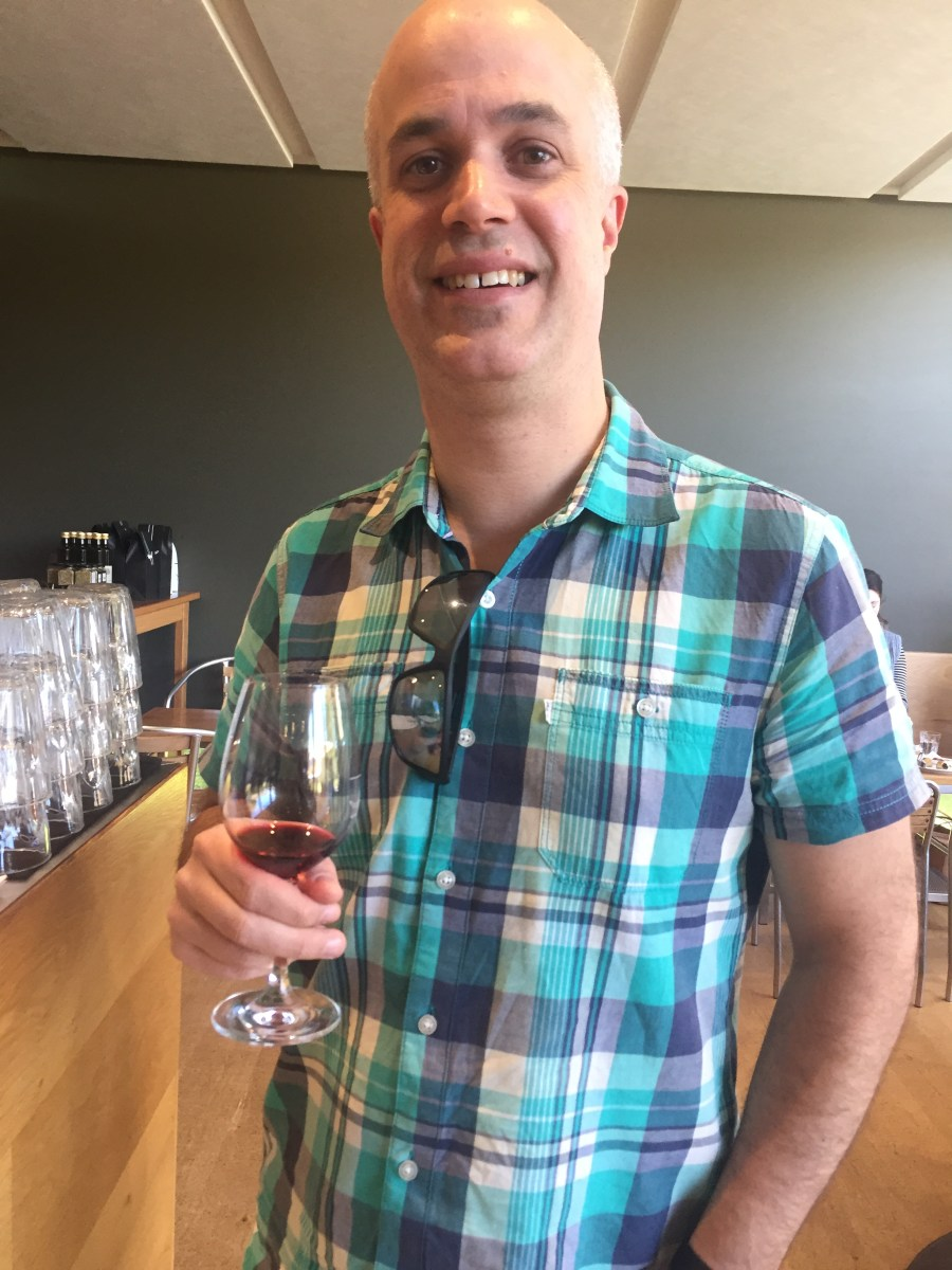 Wine tasting at Foxey's