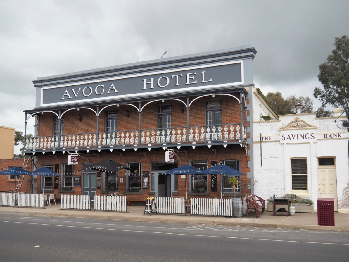 The Avoca Hotel.