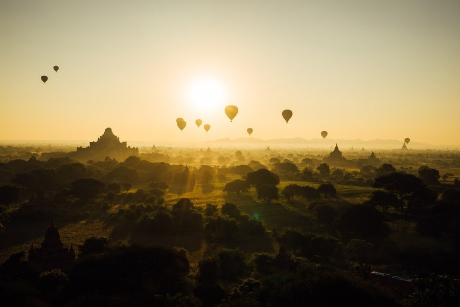 Photo from Pixabay. Bagan.