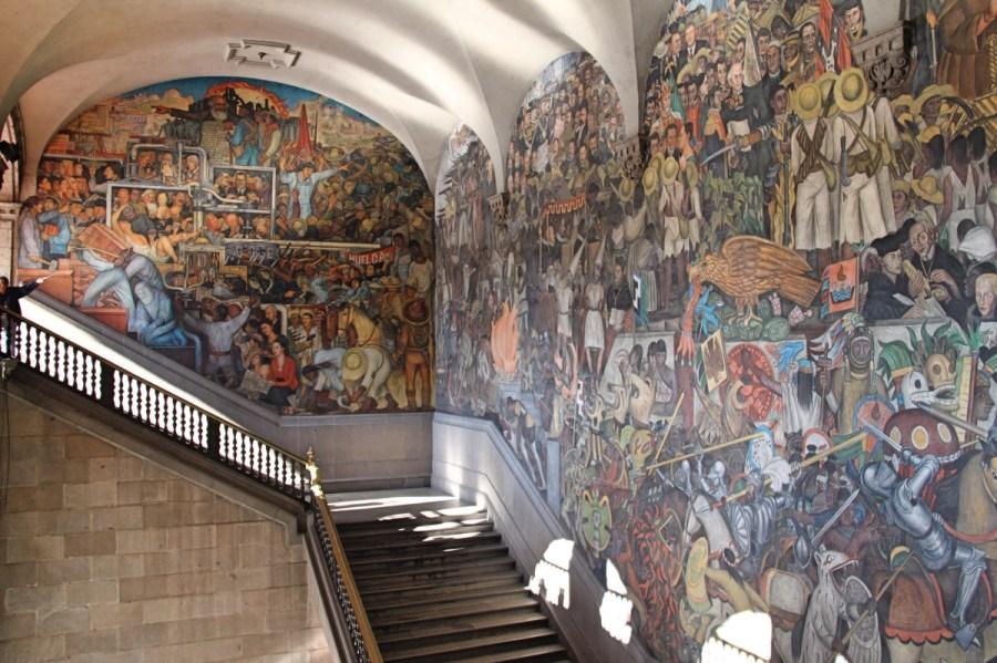 Diego Riviera Mural - Mexico City