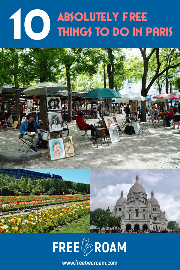10 Absolutely Free Things to do in Paris