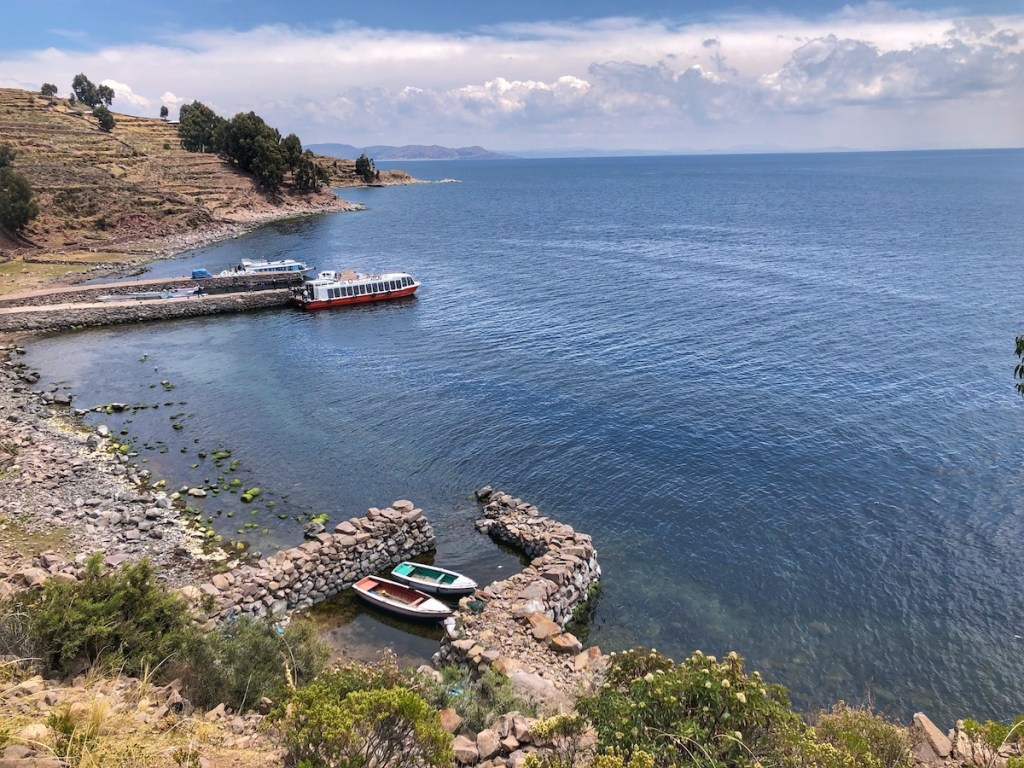 Beautiful Taquile and Lake Titicaca