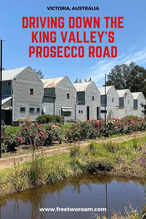 Driving down the King Valley's Prosecco Road