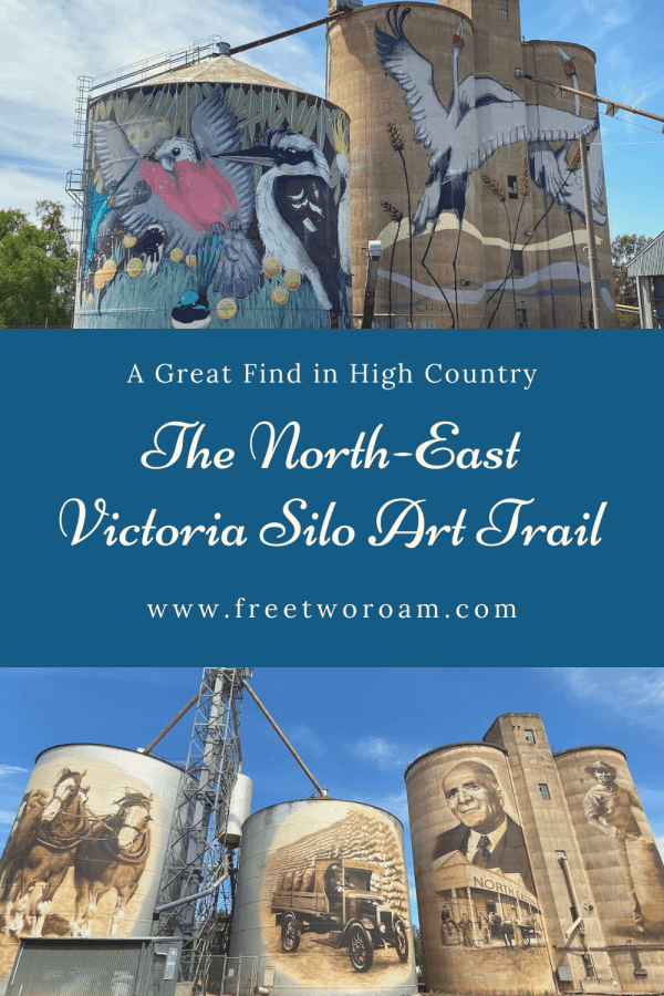 The North-East Victoria Silo Art Trail - A Great Find in High Country