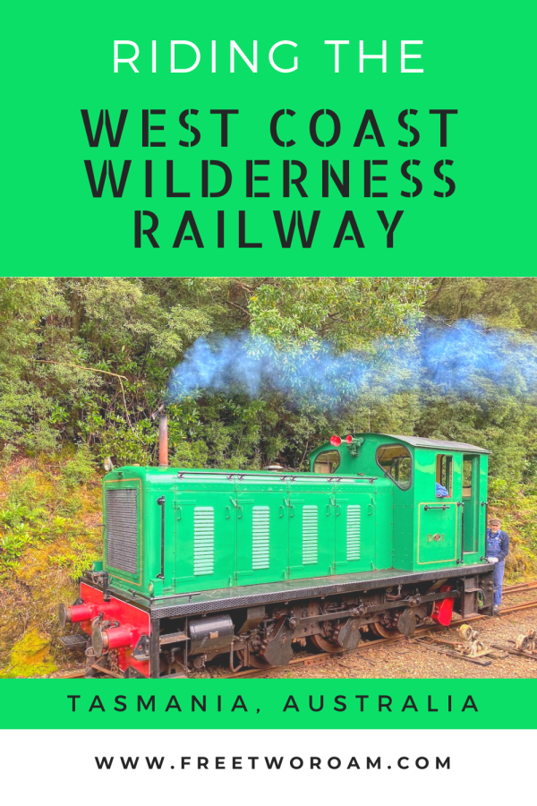 Riding the West Coast Wilderness Railway