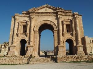 Hadrian's Arch Jerash