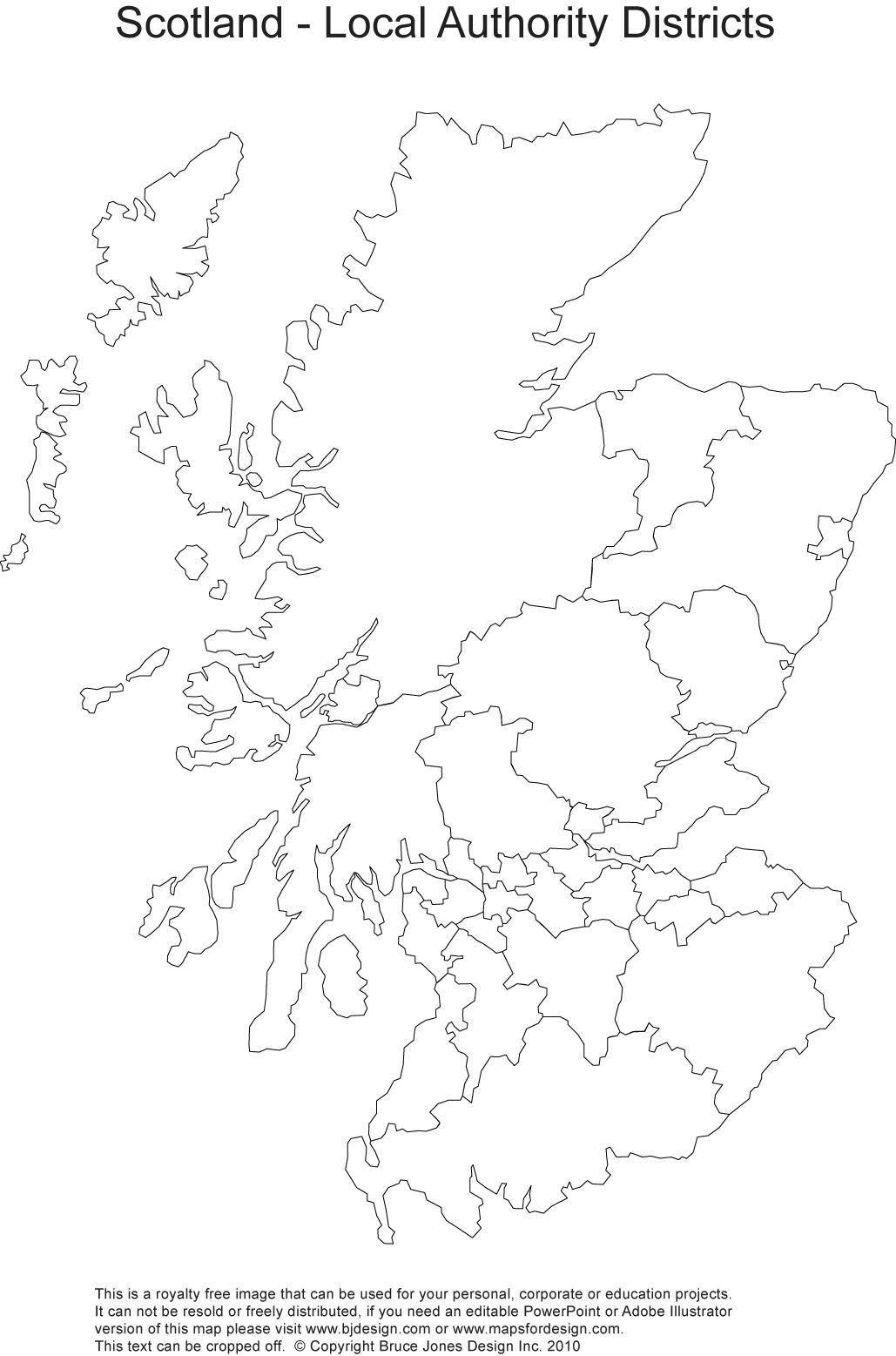 Printable Blank Uk United Kingdom Outline Maps Royalty