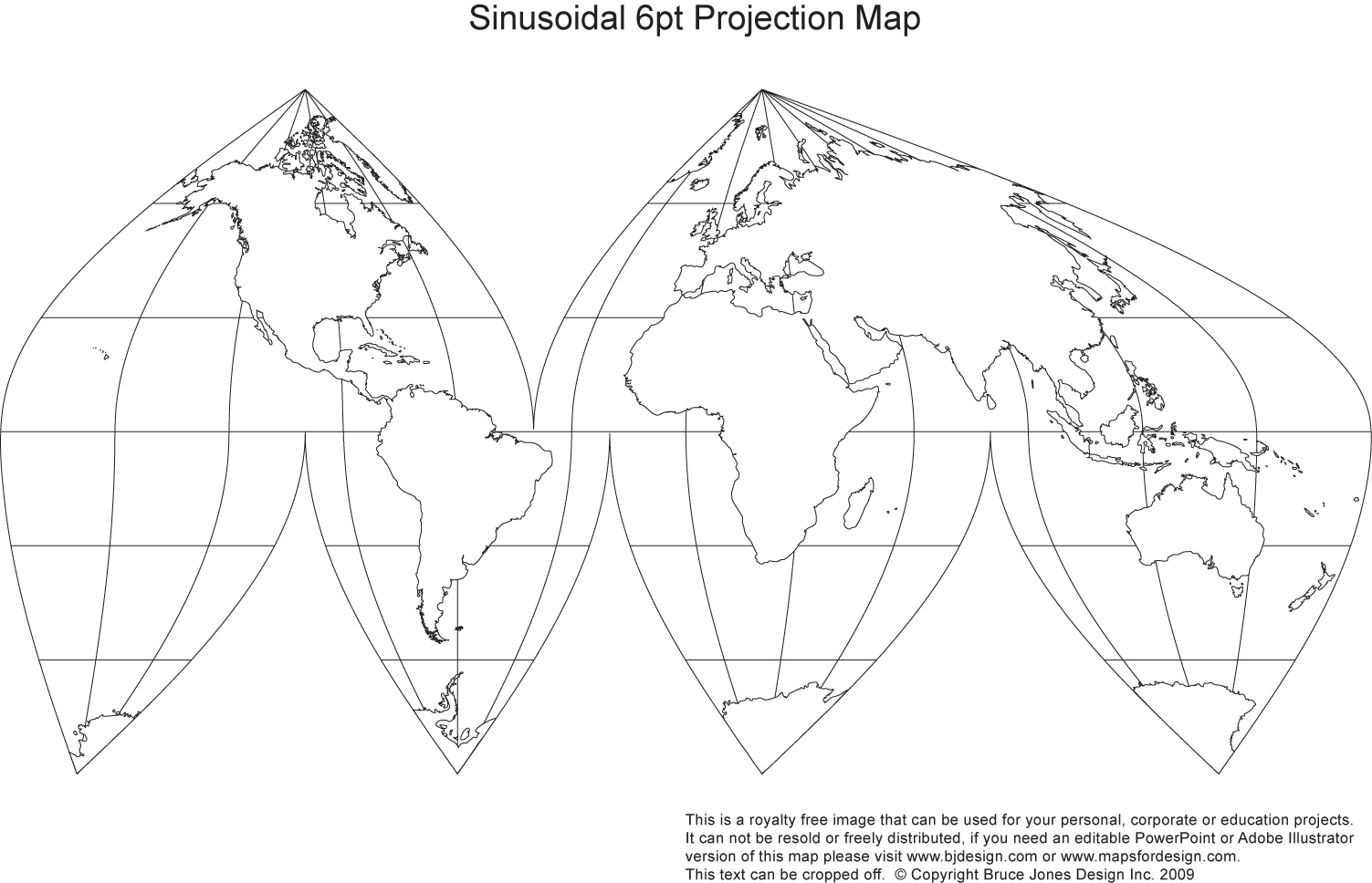 Printable Blank World Outline Maps Royalty Free Globe
