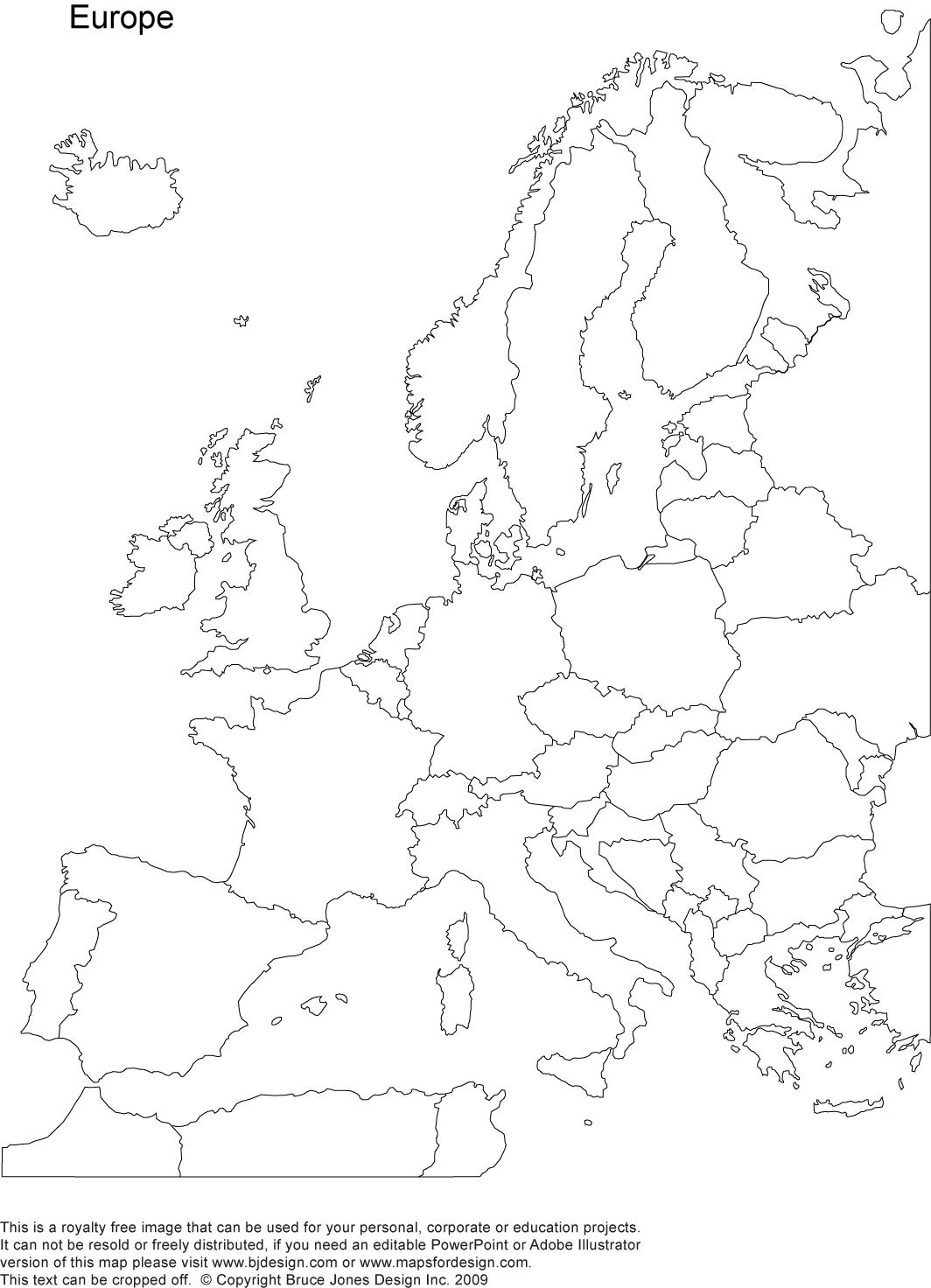 World Regional Europe Printable Blank Maps Royalty Free Freeusandworldmaps