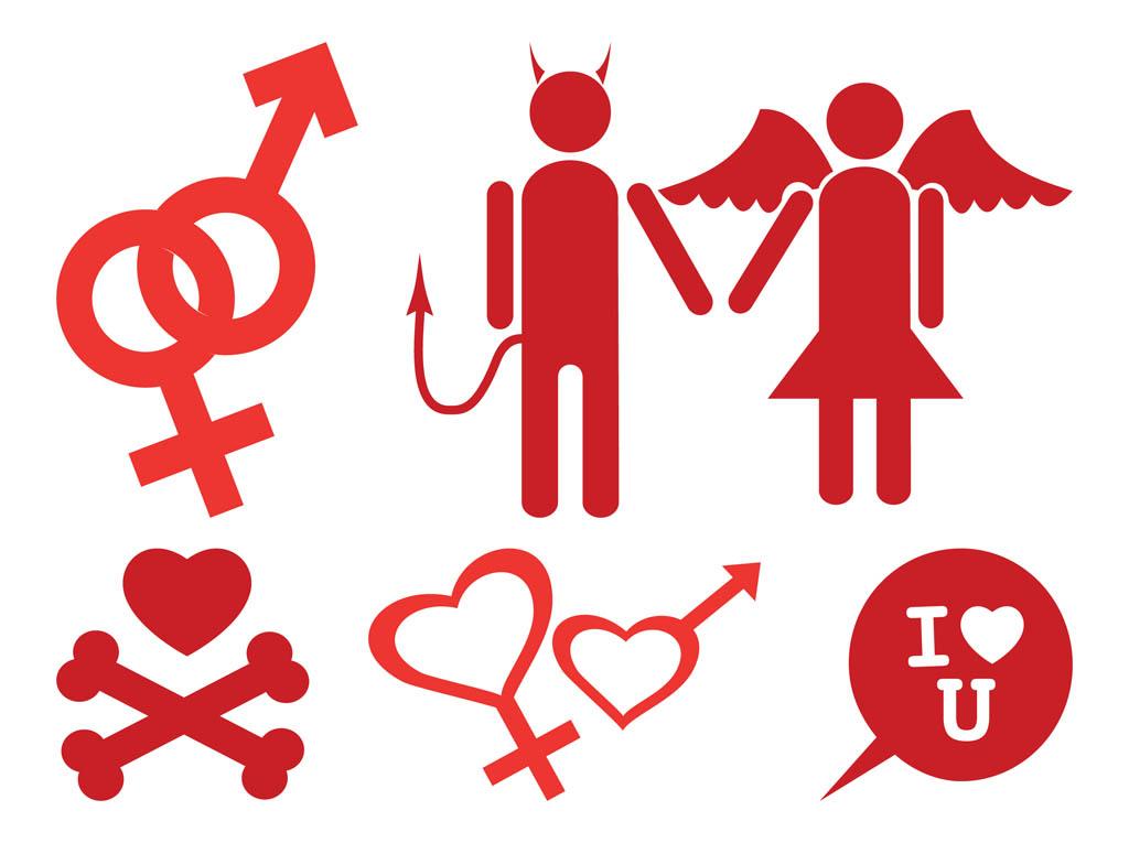 Download Love Icons Set Vector Art & Graphics | freevector.com