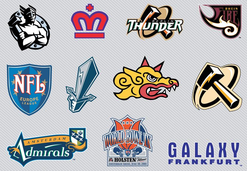 Original Nfl Football Logos
