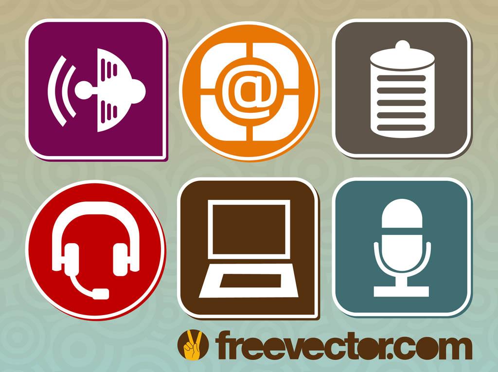 Vector Technology Symbols Vector Art Graphics