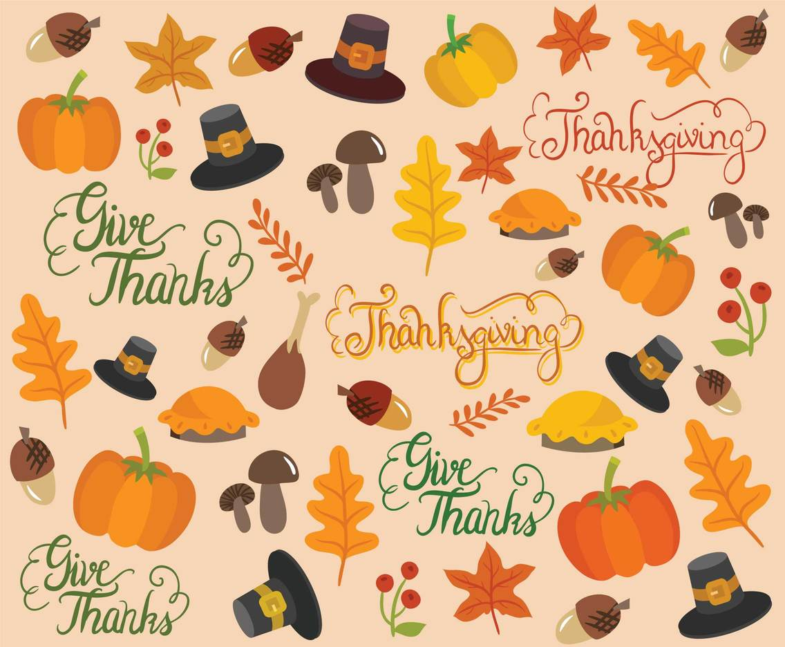 Free Thanksgiving Background Vectors Vector Art Amp Graphics