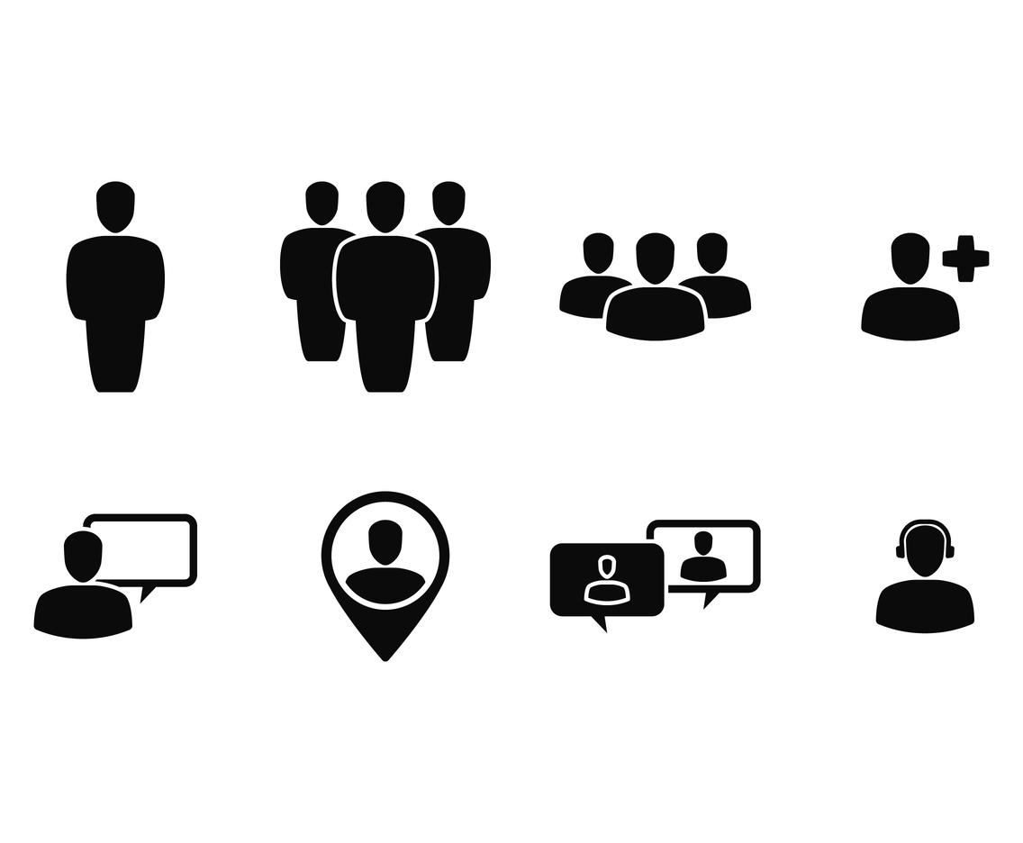Person Social Icon Vector Art Amp Graphics