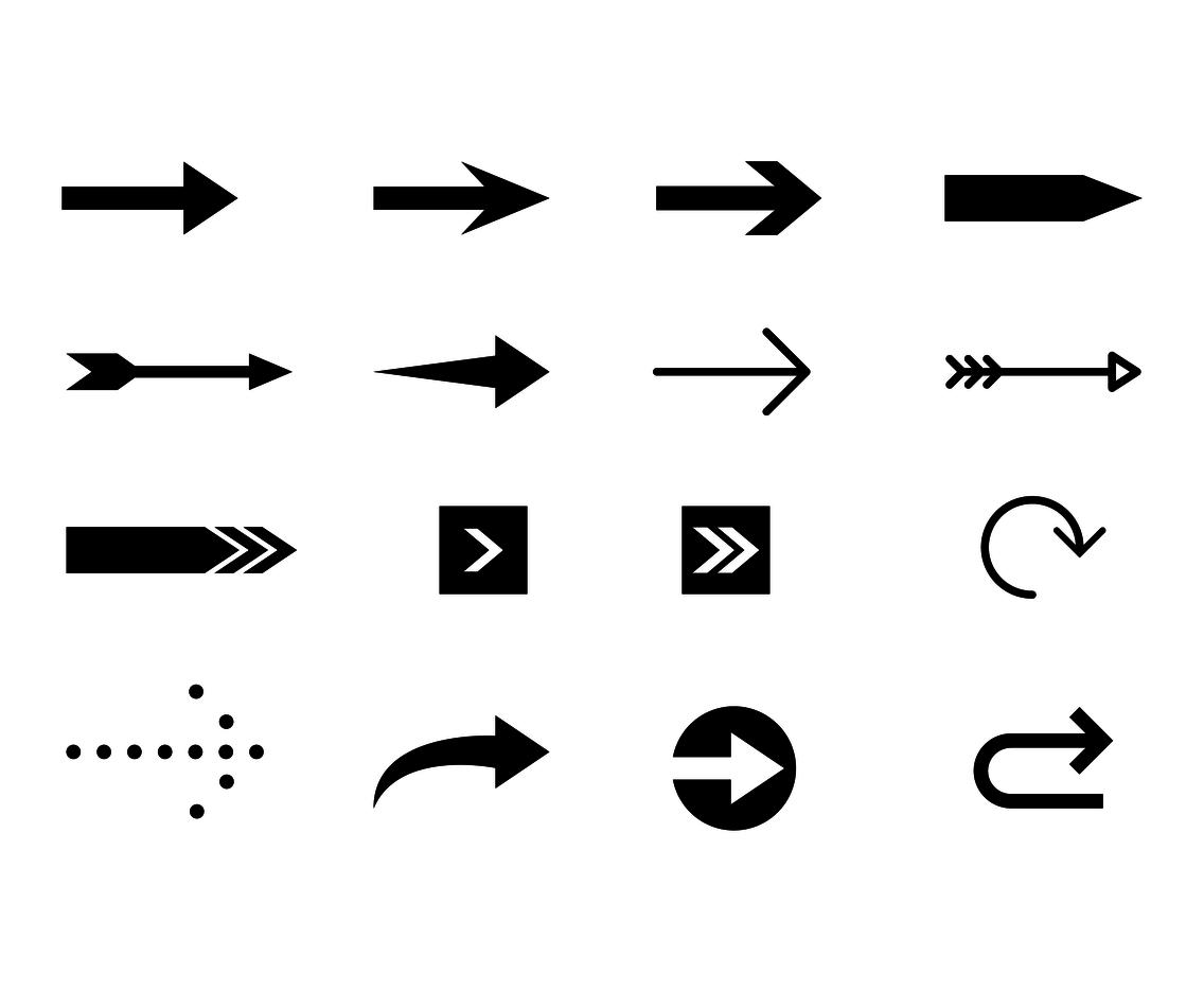 Free Arrow Icon Vector Vector Art Amp Graphics