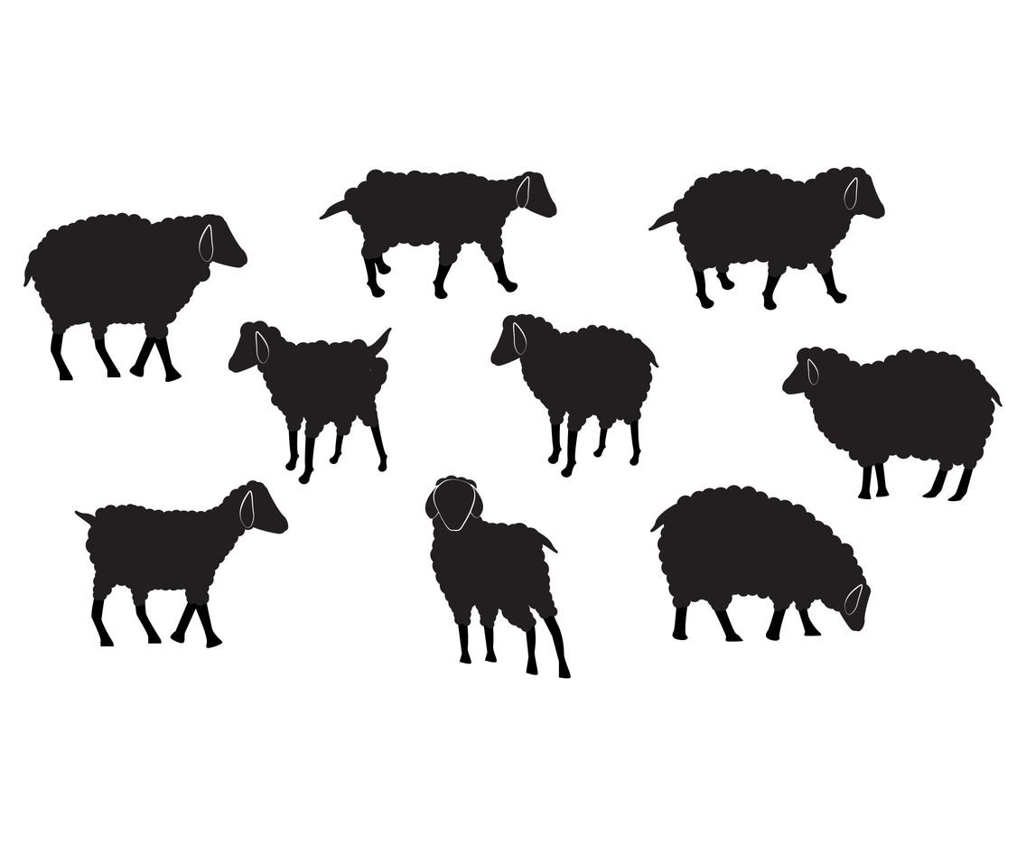 Sheep Cartoon Stock Vector Fondos De Pantalla