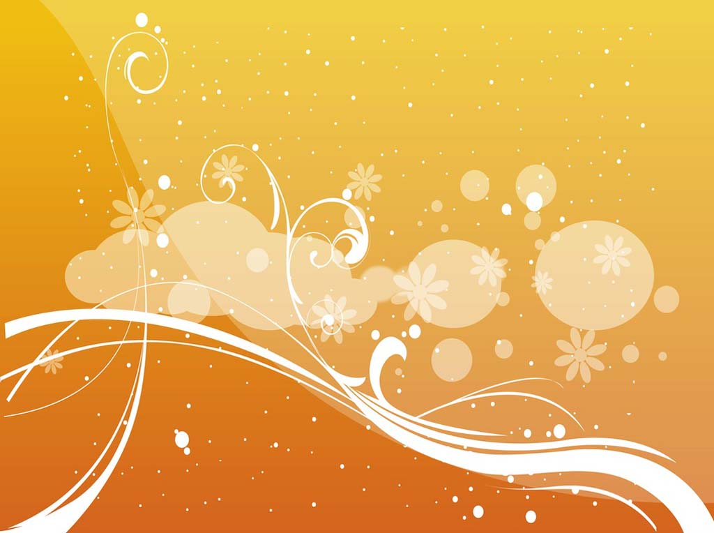 Abstract Floral Vector Vector Art Amp Graphics Freevector Com