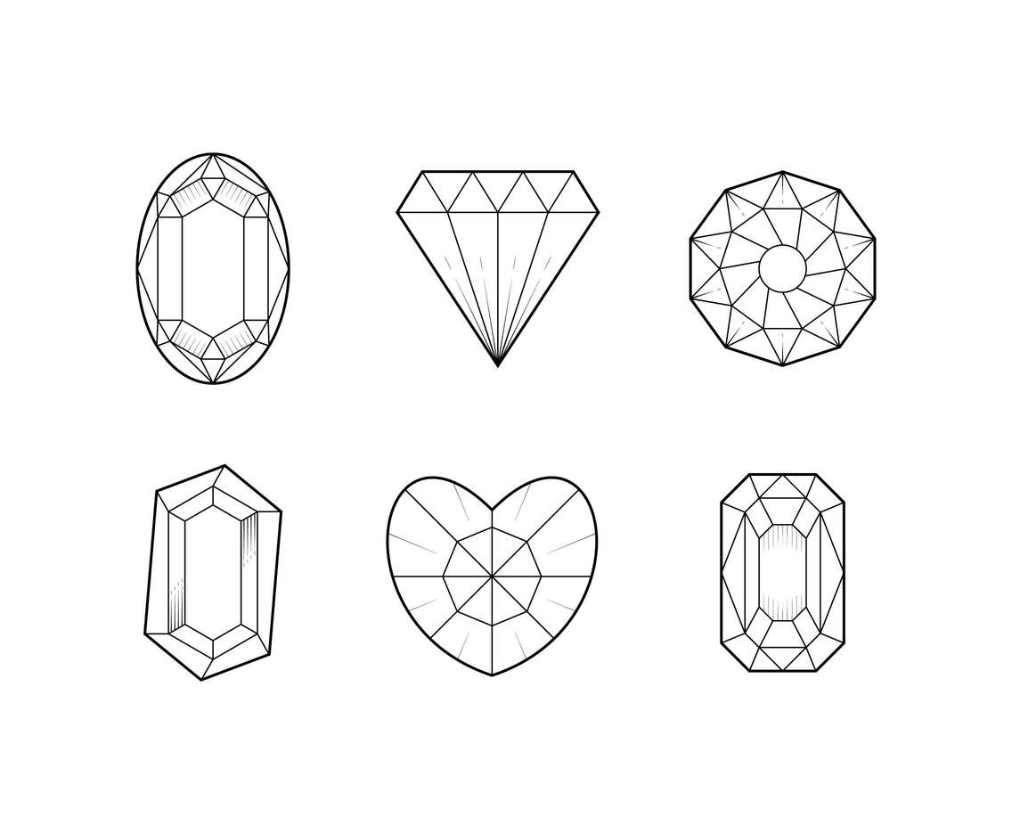 Free Awesome Gem Vectors Vector Art Amp Graphics