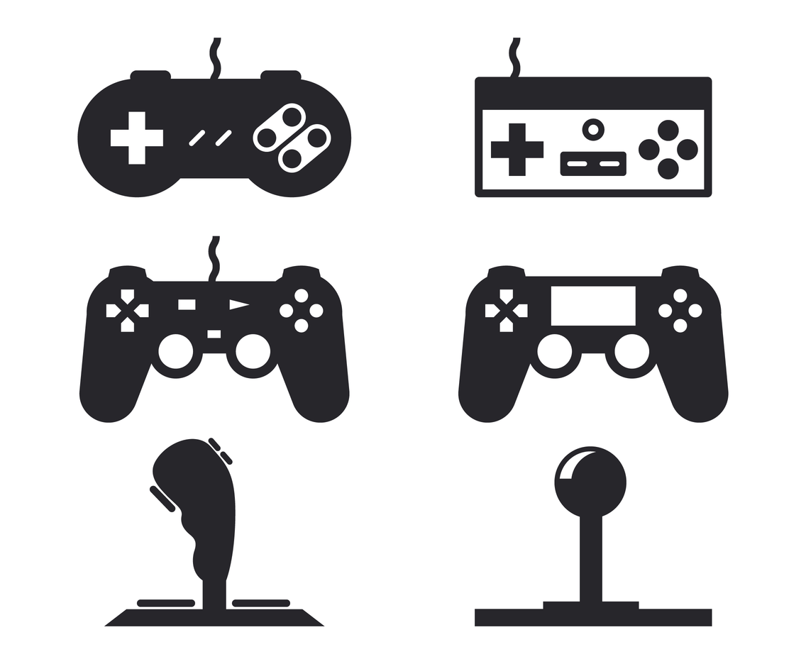 Gamer Controller Cartoon