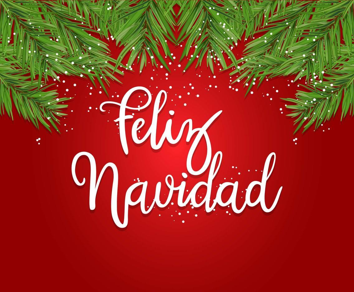 Feliz Navidad Greeting Card Vector Art Amp Graphics