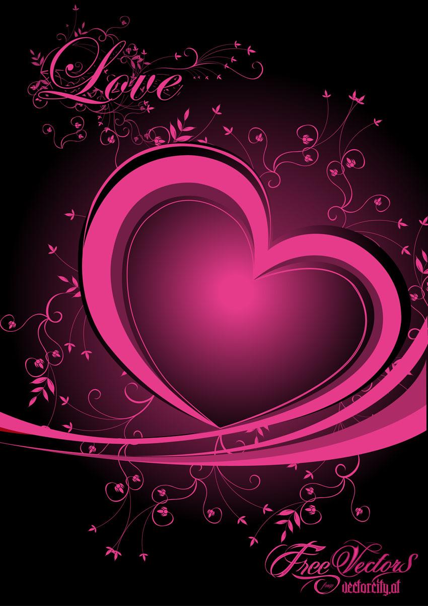 Download Free Love Heart Vector Vector Art & Graphics | freevector.com