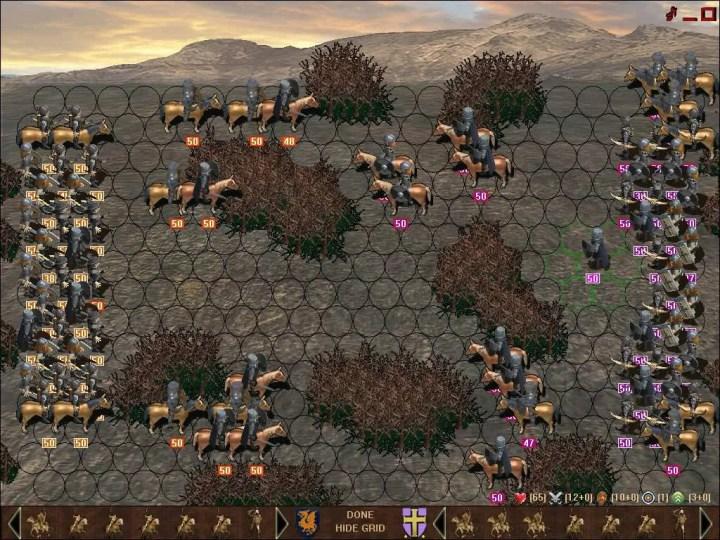 Knights of War Tactical Screenshot