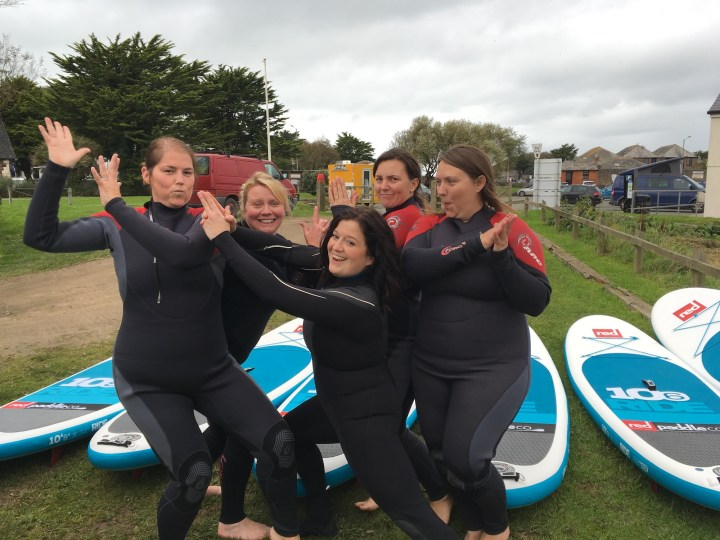 Hen Party Paddleboarding