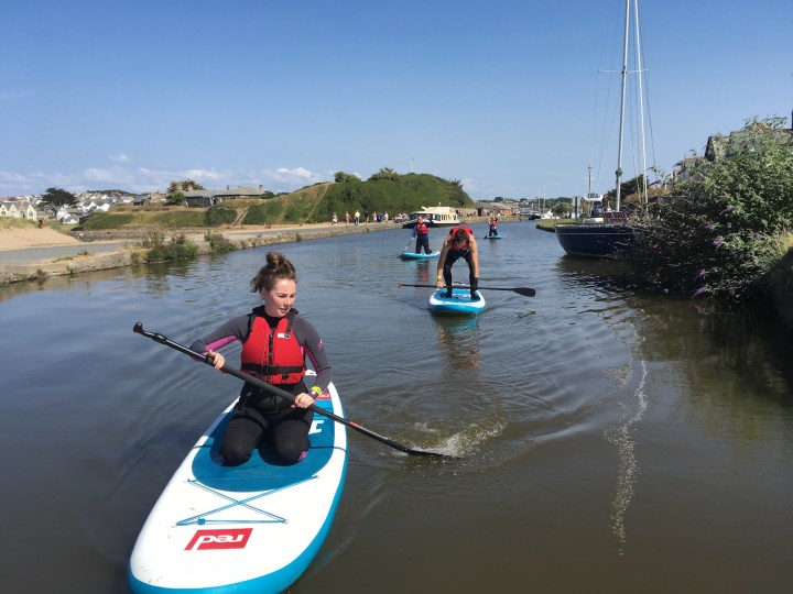 Stand Up Paddleboarding Bude Canal
