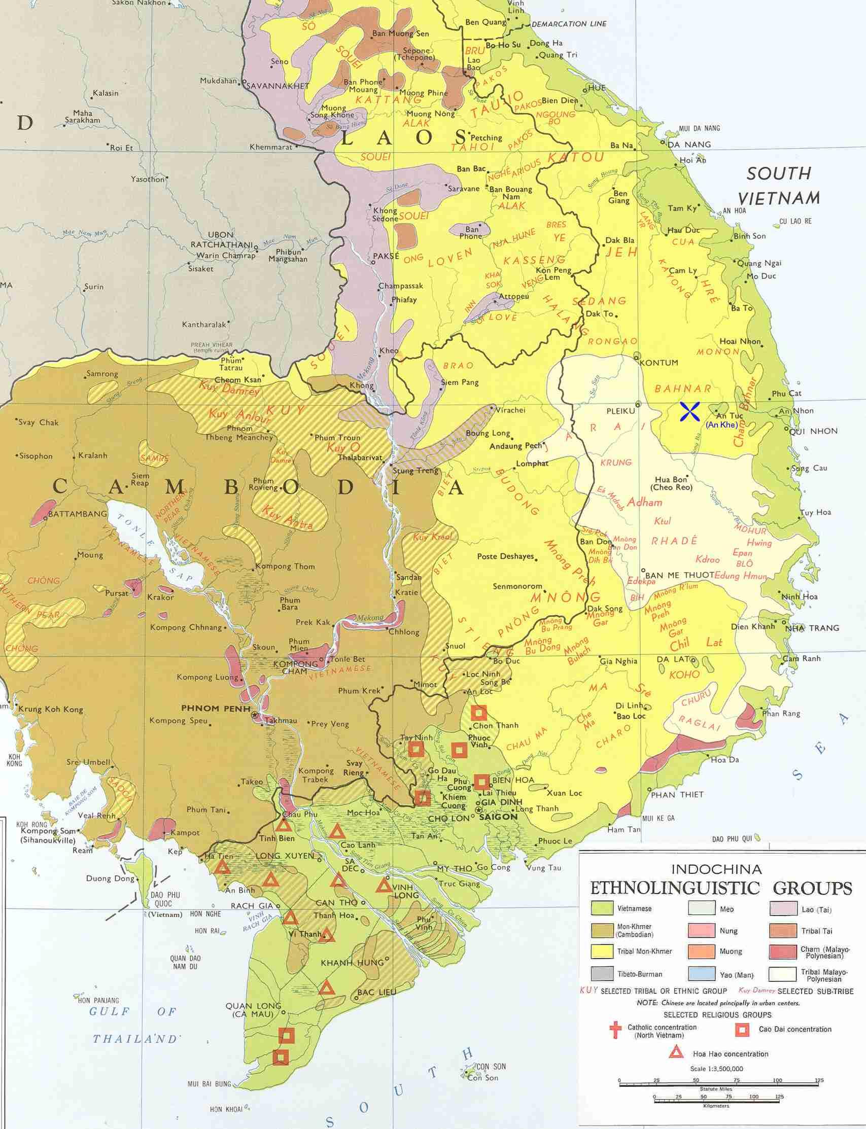Ethno Linguistic Groups S Vietnam