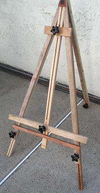making an easel