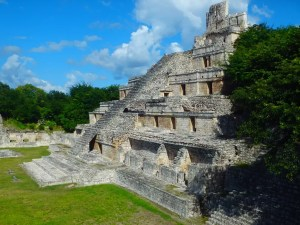 Hello Yucatan – We're in Mayan Country – Edzna Ruins