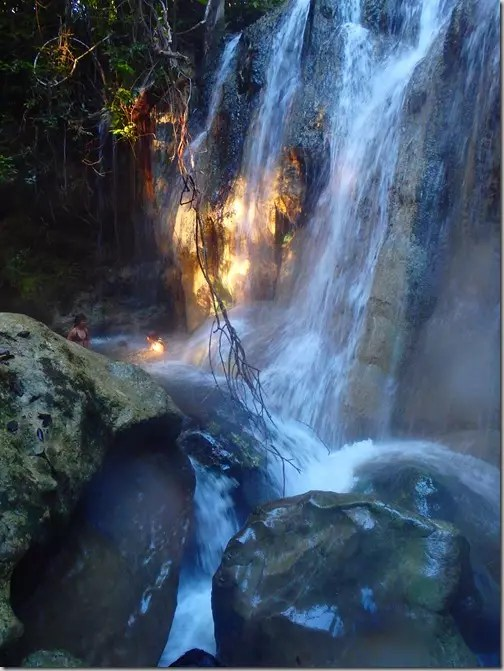 hot springs waterfall guatemala 8