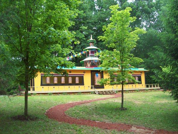 Tibetan Prayer Wheels, Bloomington, IN