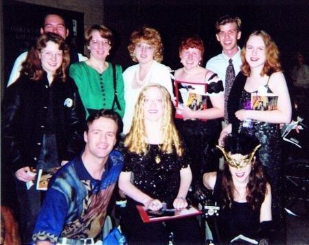 Phantom friends with Ciaran Sheehan, 1996