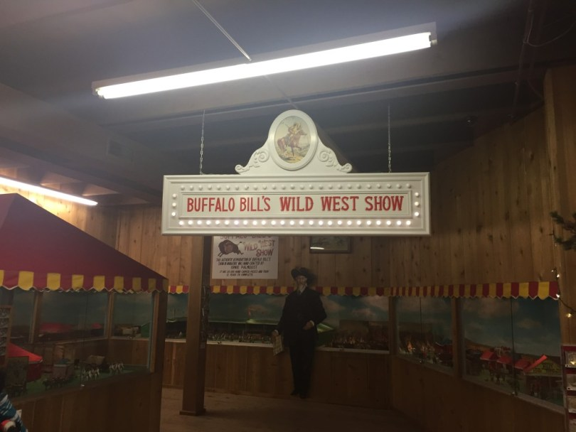 Buffalo Bill Miniature Wild West Show