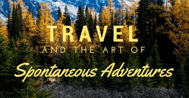 Spontaneous Travel